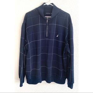 Nautica blue striped sweater size extra large XL